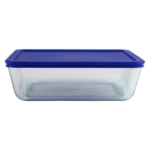 Pyrex 11 cup Food Storage Container Cadet Blue - image 1 of 1