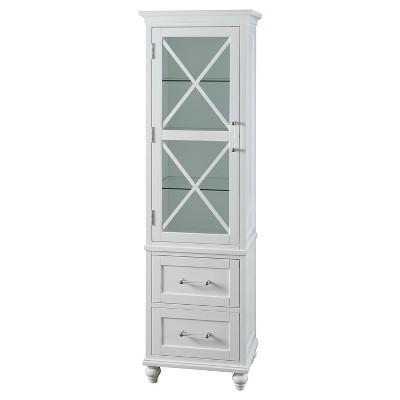 Attirant Linen Cabinet Fashion White   Elegant Home Fashions