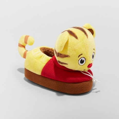 Toddler Boys' Daniel Tiger Bootie Slippers - Red M - image 1 of 3