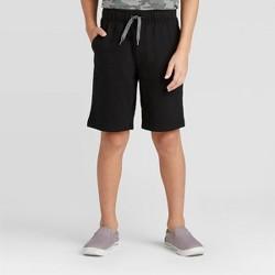Boys' Pull-On Knit Shorts - Cat & Jack™ Black