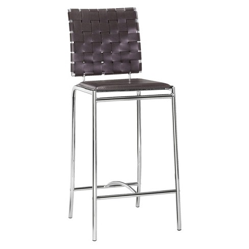 "Modern 26"" Counter Chair (Set of 2) - ZM Home - image 1 of 4"