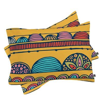 Valentina Ramos Lottie Pillow Sham Standard Yellow - Deny Designs®
