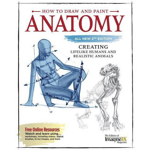 How to Draw and Paint Anatomy, All New 2nd Edition - (Paperback)