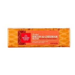 Hickory Farm Smoked Bacon & Cheddar Blend Cheese - 10 oz
