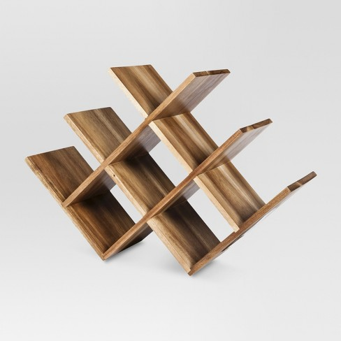 Acacia 8 Bottle Wine Rack - Threshold™ - image 1 of 1