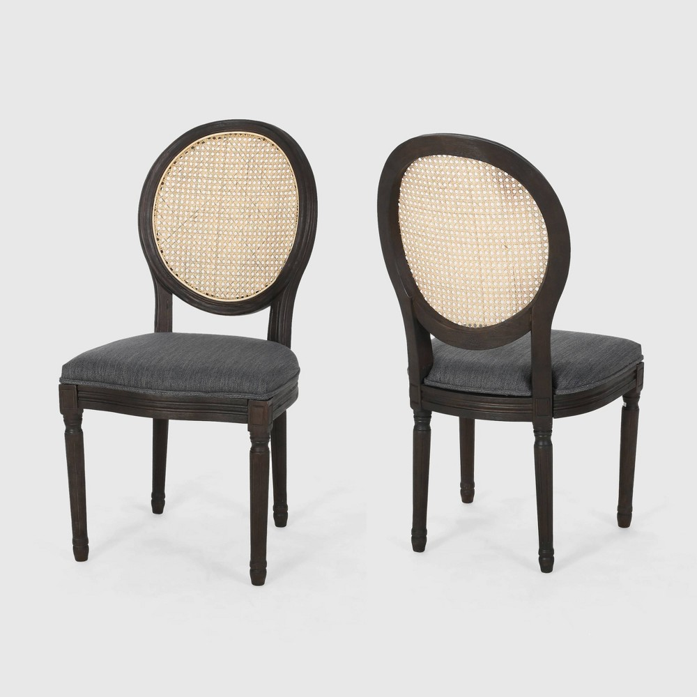 Discounts Set of 2 Govan Wooden Dining Chairs  - Christopher Knight Home