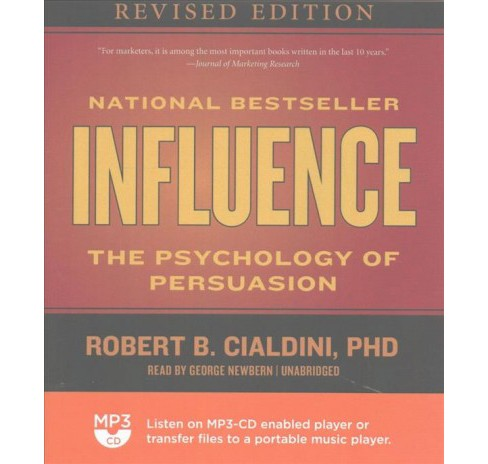 Influence (MP3-CD) (Robert B. Cialdini) - image 1 of 1