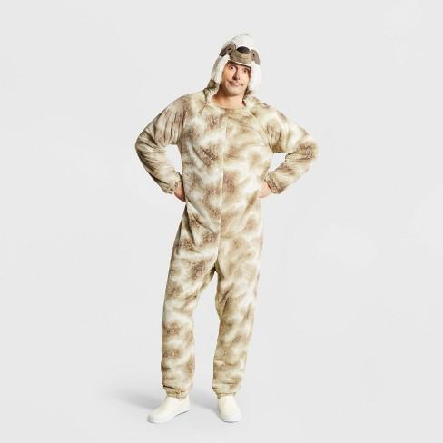 Adult Plush Sloth Halloween Costume - Hyde & EEK! Boutique™ - image 1 of 1