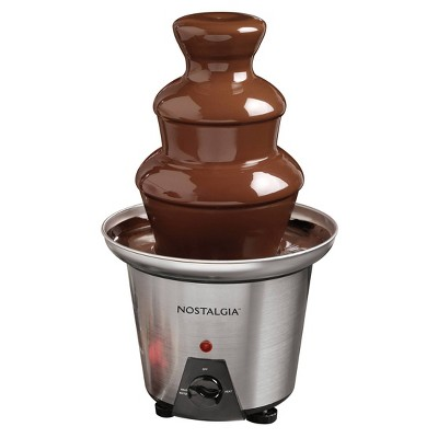 Nostalgia 3-Tier Capacity Chocolate Fondue Fountain - CFF970