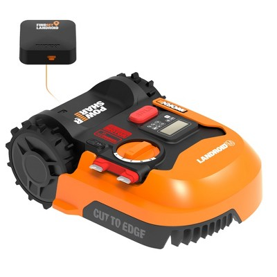 Worx WR143 Landroid M 20V Power Share Robotic Lawn Mower with GPS Module Included