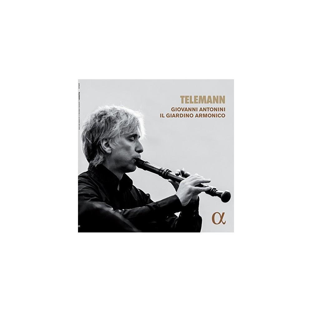 Giovanni Antonini - Telemann (Vinyl)