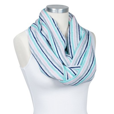 Bebe Au Lait ® Premium Muslin Nursing Scarf - Candy Stripes