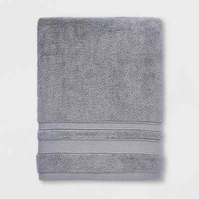 Performance Bath Towel Classic Gray - Threshold™