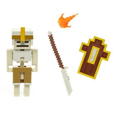 """Minecraft Dungeons 3.25"""" Skeleton Figure"""