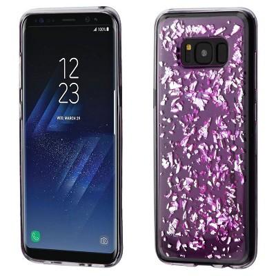MYBAT For Samsung Galaxy Flakes TPU Rubber Candy Skin Case