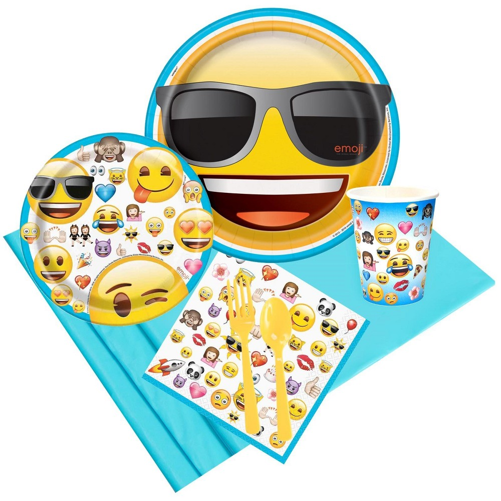 8ct Emoji Party Pack, Multi-Colored