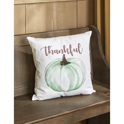Lakeside Hello Autumn Decorative Home Throw Pillow - Pumpkin : Target