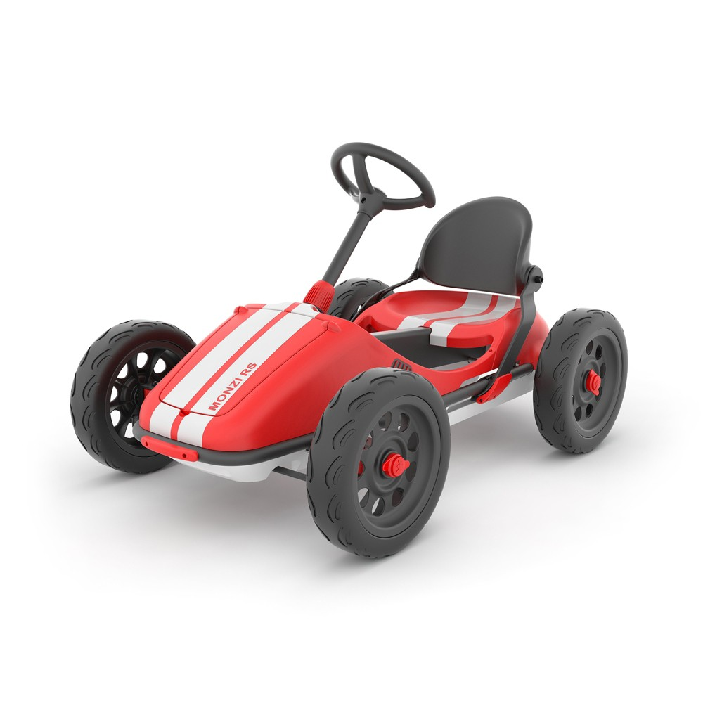 Chillafish Monzi Kids 39 Pedal Go Kart Red