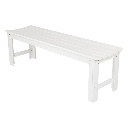 Backless Garden Bench - 5 Feet - image 1 of 4