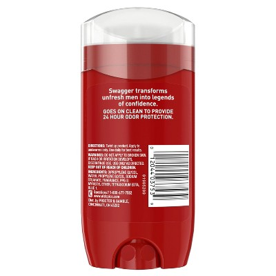 Old Spice Red Collection Swagger Scent Men's Deodorant - 3oz