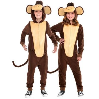 Kids' Monkey Zipster Halloween Costume