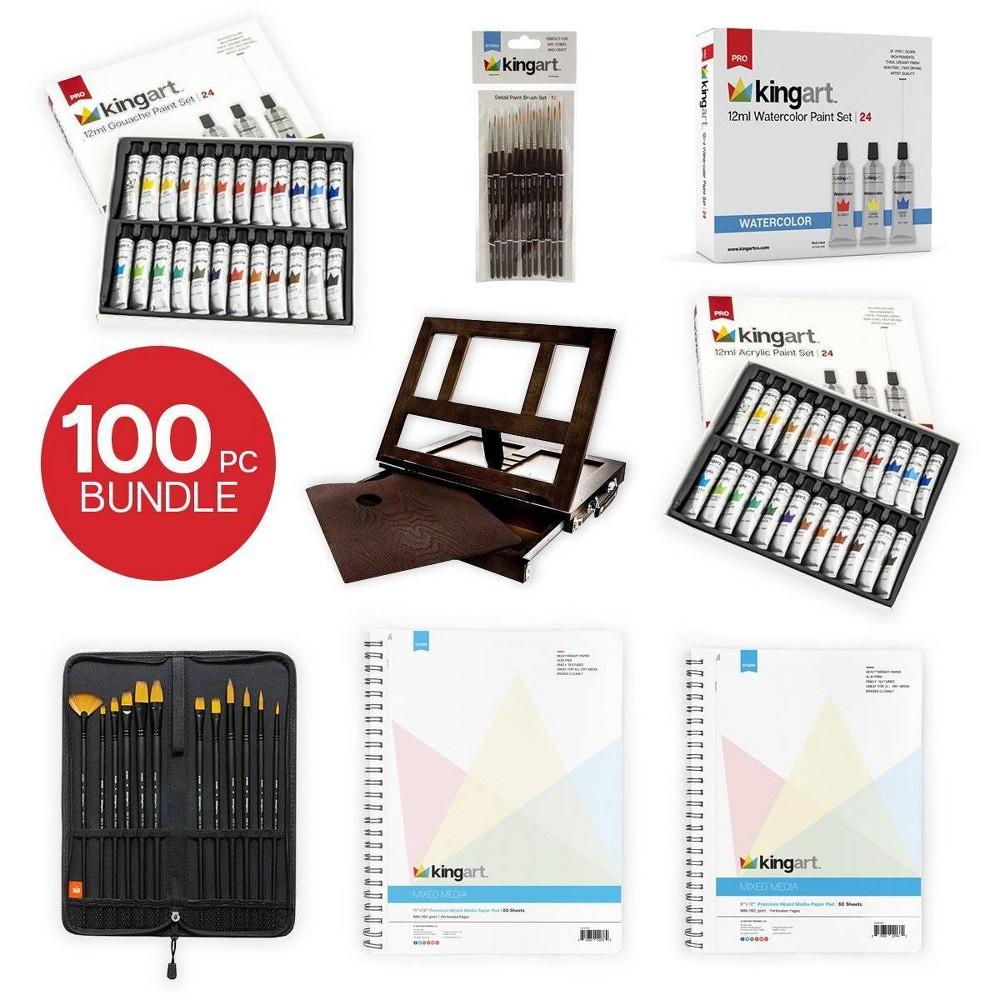 Image of Kingart 100pc Paint Bundle