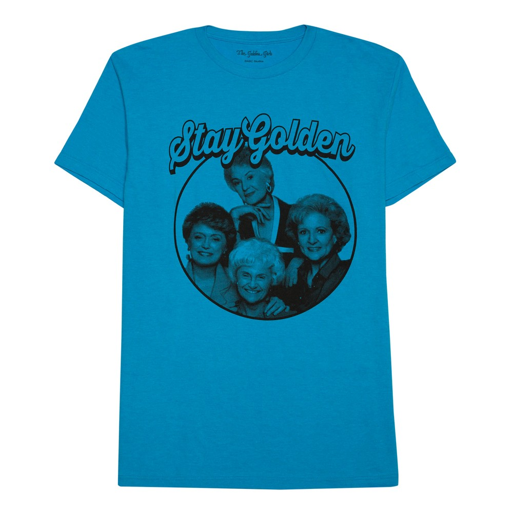 Men's Golden Girls Stay Golden T-Shirt - Blue XL