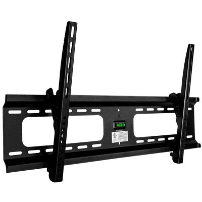 Monoprice Extra Wide TV Wall Mount Bracket For TVs 37in to 70in |Tilt,  Max Weight 165 lbs, VESA Patterns Up - Stable Series
