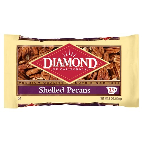Diamond Of California® Shelled Pecans 6 oz - image 1 of 1