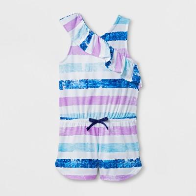 Toddler Girls' Romper - Cat & Jack™ White 12M