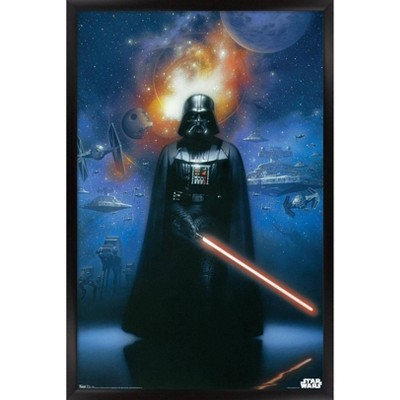 Star Wars - Darth Vader Framed Poster Trends International