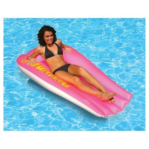 Poolmaster Suntanner Mattress - Pink - image 1 of 2