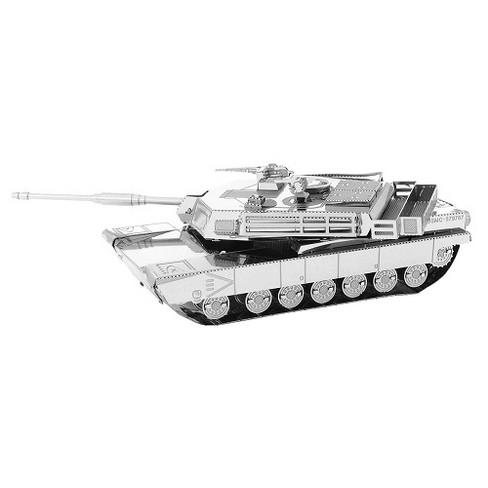 Fascinations Metal Earth M1 Abrams Tank 3D Metal Model Kit - image 1 of 1