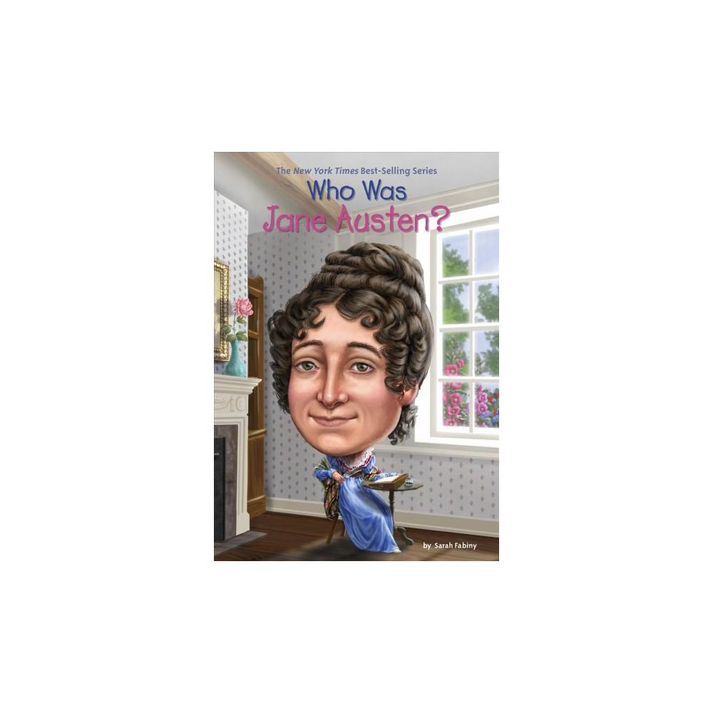Who Was Jane Austen? (Paperback) (Sarah Fabiny)
