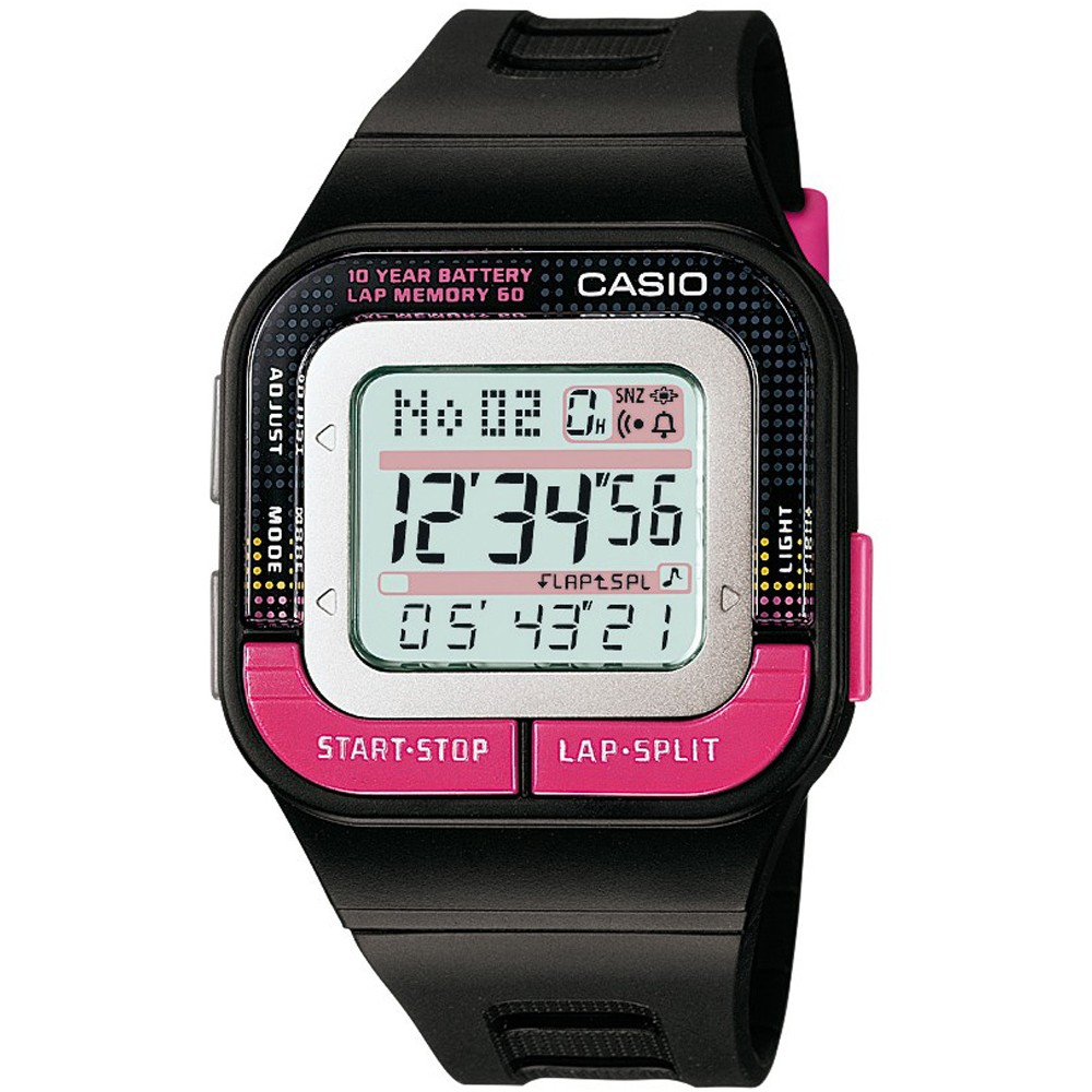 Men's Casio Digital Sports Watch - Black