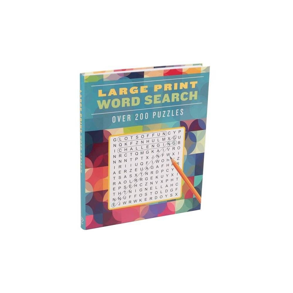 Large Print Word Search Large Print Puzzle Books Paperback