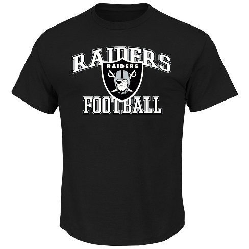 buy popular 85fa5 74663 Oakland Raiders Men's Greatness Big & Tall T-Shirt XLT