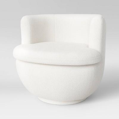Dorton Round Swivel Barrel Chair - Project 62™