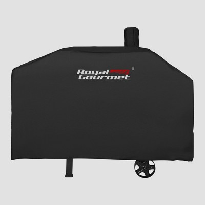 """Royal Gourmet 59"""" Grill Cover Oxford Waterproof Heavy Duty CR6013P - Black"""