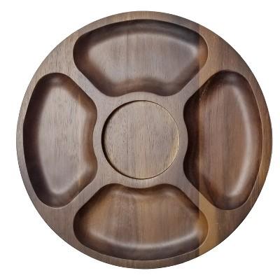 "BergHOFF Acacia Wooden Tray  12.8"""