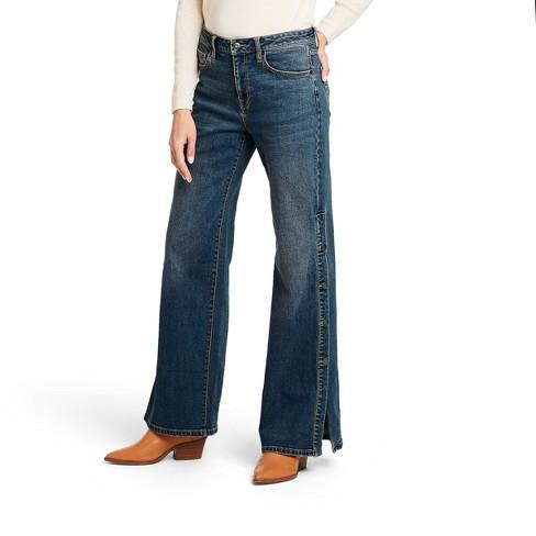 Women's High-Rise Flare Jeans - Nili Lotan x Target Blue  - image 1 of 4