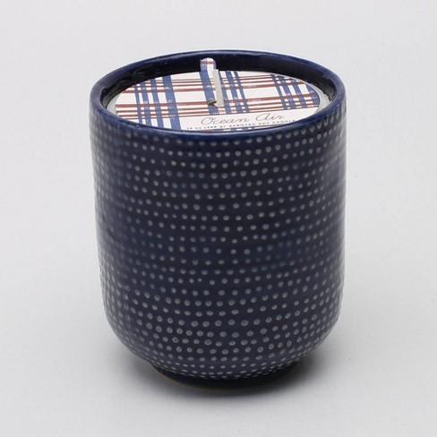 13oz Glazed Jar Candle Ocean Air - Threshold™ - image 1 of 1