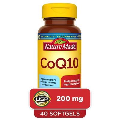 Nature Made CoQ10 200 mg Softgels - 40ct