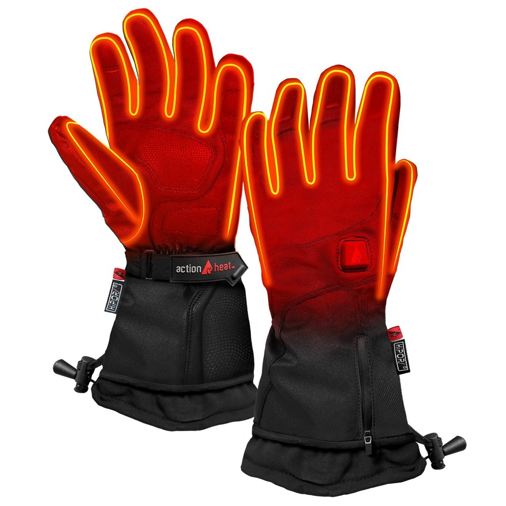 ActionHeat 5V Battery Heated Premium Gloves Men's Glove - Black S, Women's, Size: Small thumbnail