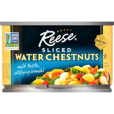 Reese Sliced Water Chestnuts 8oz