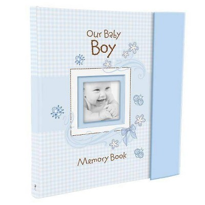 Our Baby Boy Memory Book - (Hardcover)