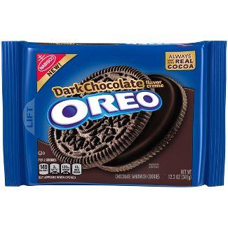 Oreo Dark Chocolate Cookies - 12.2oz