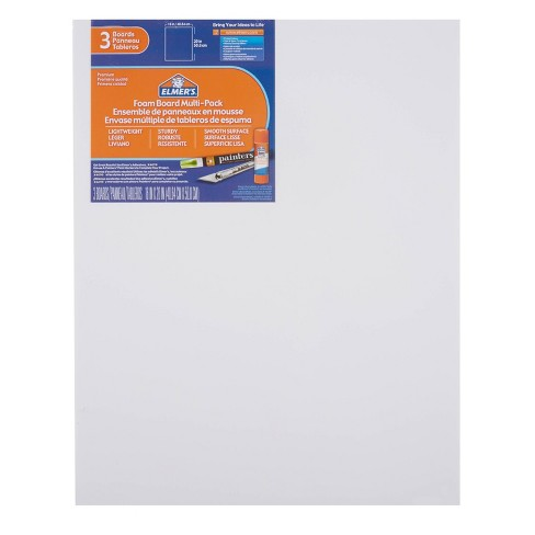 "Elmer's 3pk 16"" x 20"" Foam Presentation Boards White - image 1 of 2"