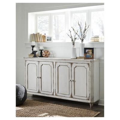 Genial Decorative Storage Cabinets NATURA   Signature Design By Ashley : Target