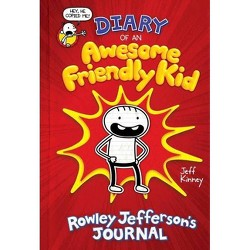 Diary of an Awesome Friendly Kid - By Kinney, Jeff (Hardcover)